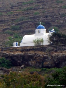 Throw a stone in Santorini and you'll hit a church…
