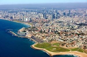 Present-day Tel Aviv