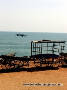 Beach at Pondicherry