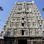 Shiva temple at the base of Arunachala