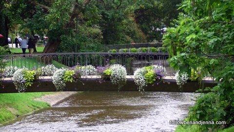 Lichtentaler Allee park in Baden-Baden, Germany