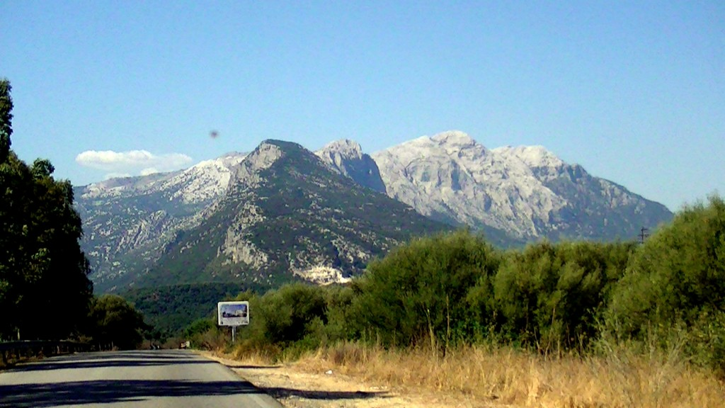 Mountains in Nuoro, Sardegna