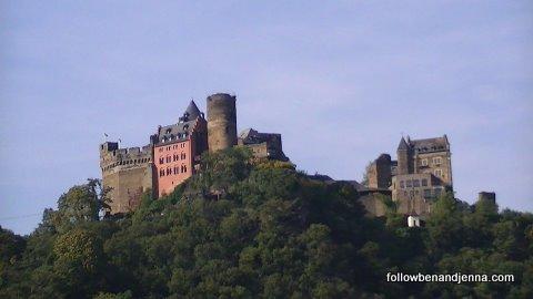 """Schoenberg (""""Beautiful Castle"""") near Oberwesel, Germany"""