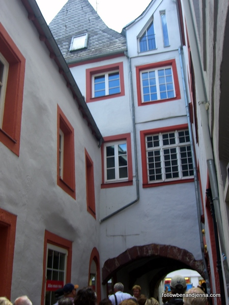 Entrance to the Judengasse (Jewish Quarter) of Trier