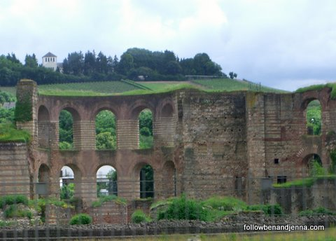 Roman baths in Trier, Germany