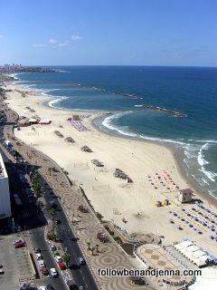 Tel Aviv beach and promenade