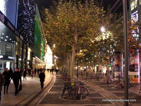 Frankfurt's Bleidenstrasse