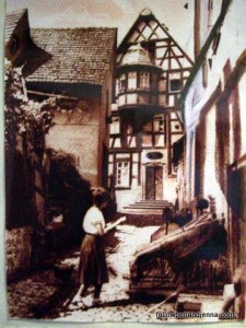 Old photograph of Bad Wimpfen