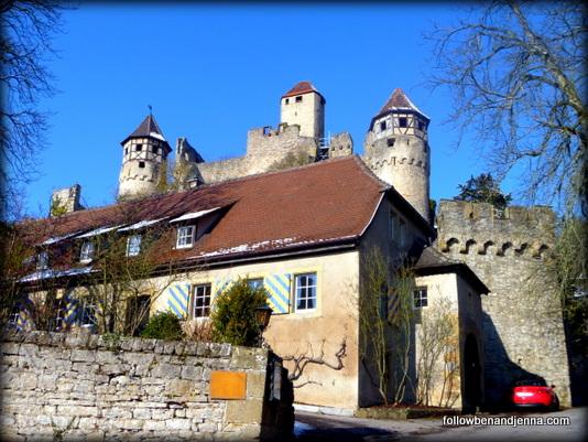 Hotel Burg Hornberg, along the Burgenstrasse