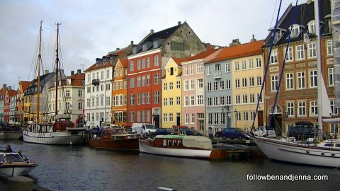 The Nyhavn district of Copenhagen