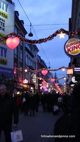Strøget entrance, Copenhagen, Denmark