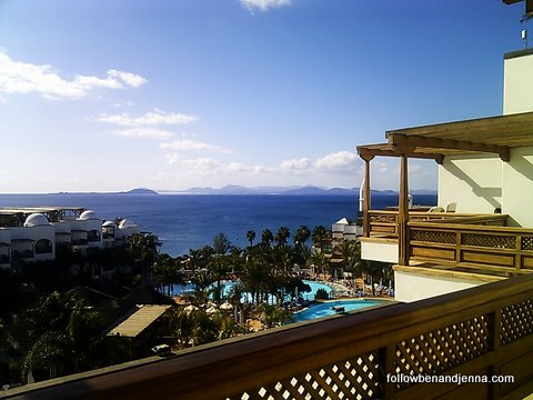 A 5-star view on Lanzarote
