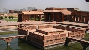 Grounds of Fatehpur Sikri