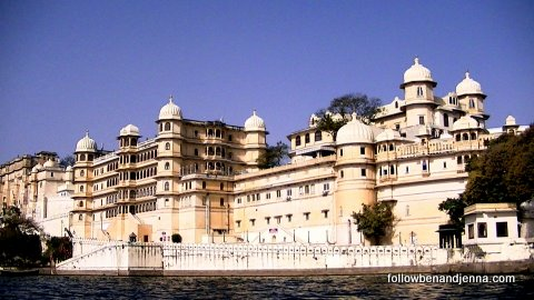 Throw a stone and you'll hit a water palace, Udaipur