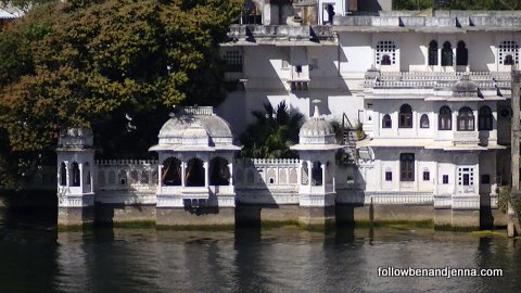 Water palace on Lake Pichola, Udaipur