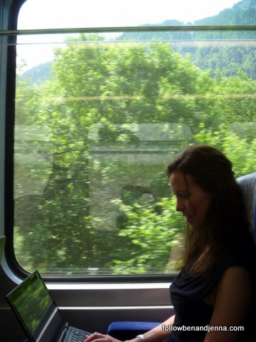 Travelling first class rail in Europe