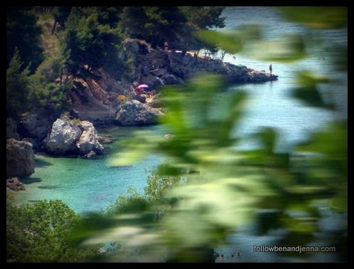 Croatia hidden cove
