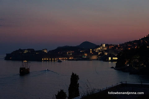 Dubrovnik twilight, from the SkyBar