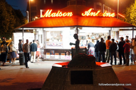 Maison Antoine: Best frites in Brussels?