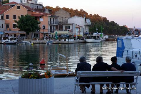 gossip hour: Zaton, Croatia