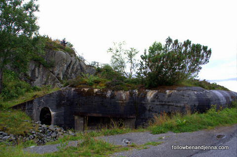 Bunker on Mount Aksla, Alesund, Norway