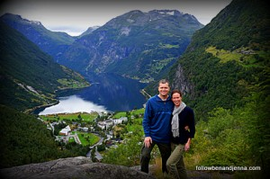 Geiranger grandeur – the little town at the end of a fjord
