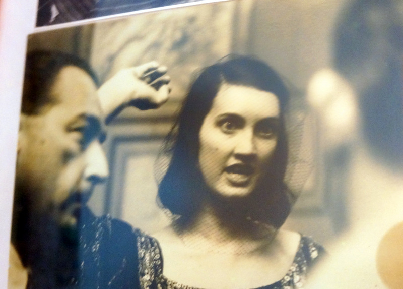 Photo of Gala Dali from her house in Port Lligat