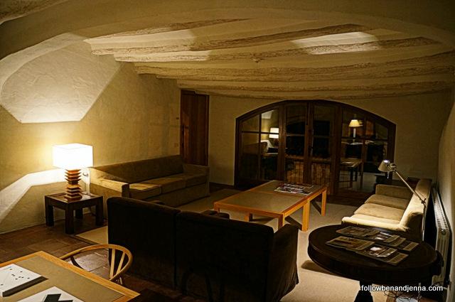 Reading room, Hotel del Teatre