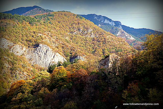 Southern Bulgaria in autumn near Bachkovo