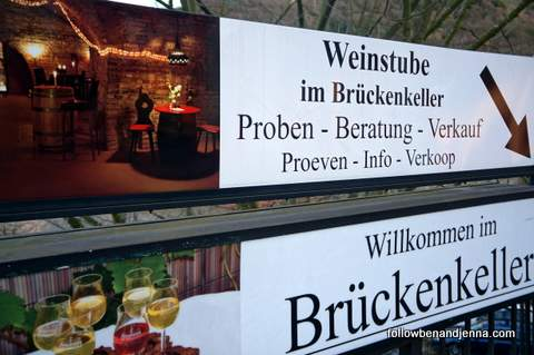 Weinstube sign in Bernkastel-Kues