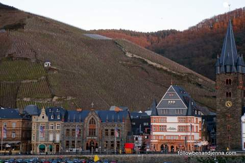 Bernkastel-Kues in winter