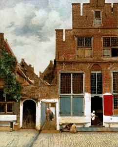 Vermeer's The Little Street Delft
