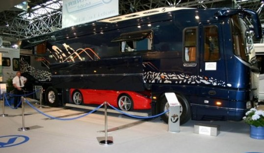 luxury campervan or motorhome