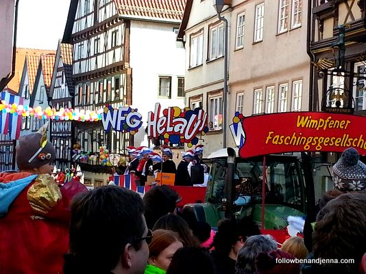 Fasching float Helau