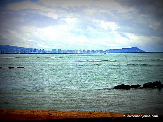 This is the idyllic place where I grew up, with a view of Waikiki. It is now a park.