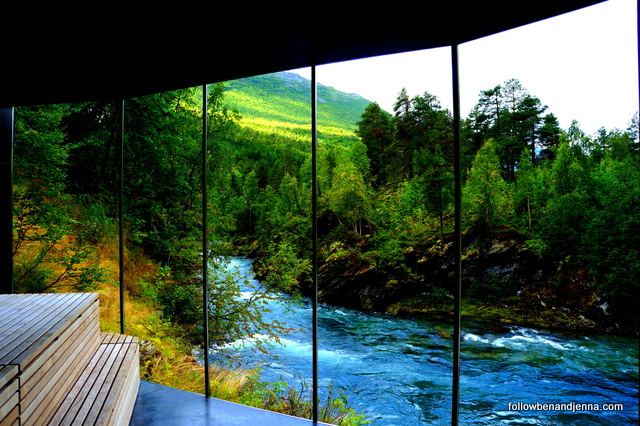A room with a view ... of Norway
