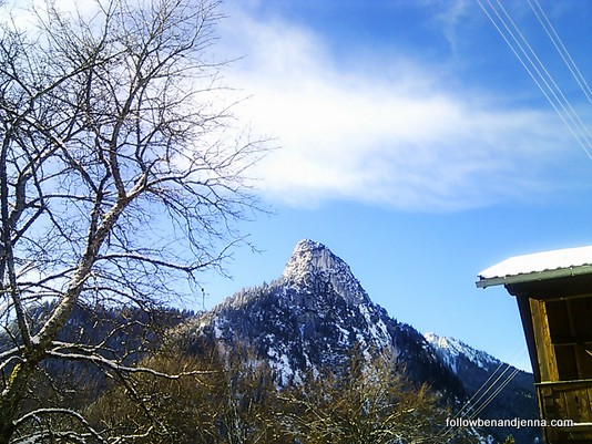Kofel peak near Oberammergau