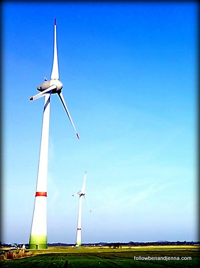 Enercon wind turbine Germany