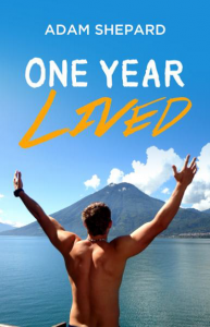 One Year Lived book Adam Shepherd