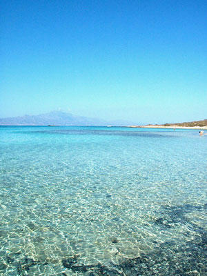 Chrissi Chrysi Island in Lasithi Crete