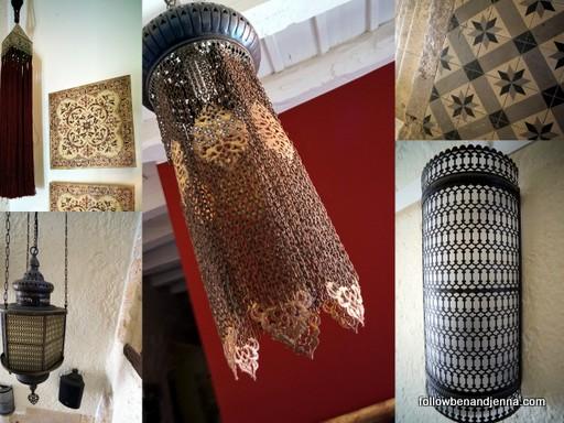 Alcanea design Ottoman lamps