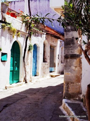 Agios konstantinos rethymno crete door