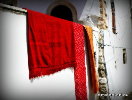 red kilim crete