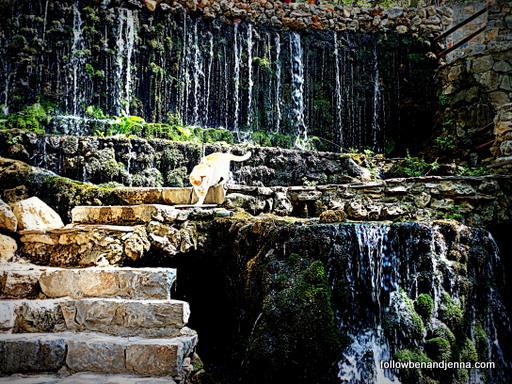 Argirouspoli waterfalls Rethymno Crete