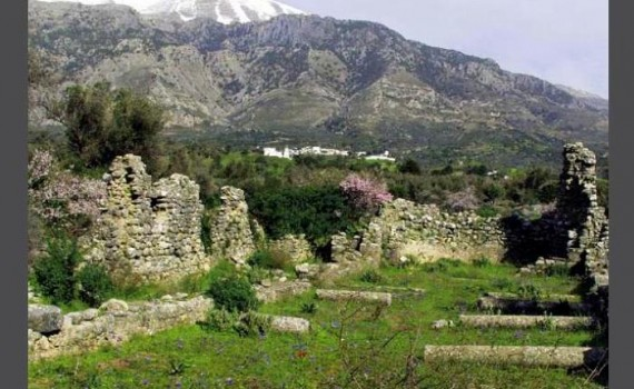 Mountain villages of Crete, in photos