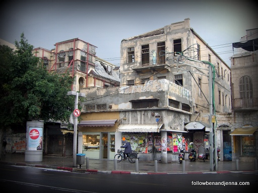 Abandoned building in Tel Aviv
