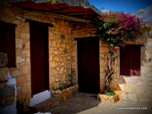 Koutsounari Traditional Cottages Crete porch