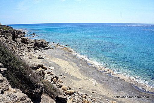 Koutsounari beach Libyan Sea