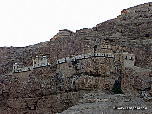 Monastery at the Mount of Temptation