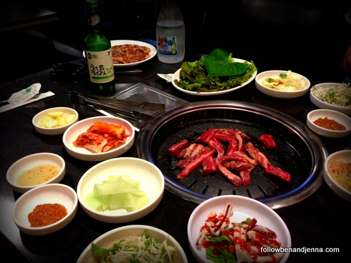Korean barbecue BBQ